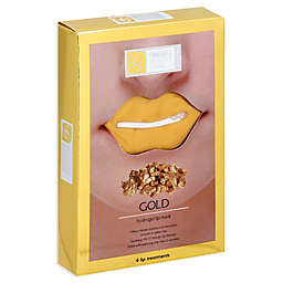 Global Beauty Care™ 4-Count Hydrogel Gold Lip Masks