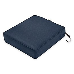 Classic Accessories® Montlake™ FadeSafe 25-Inch x 21-Inch Outdoor Lounge Seat Cushion