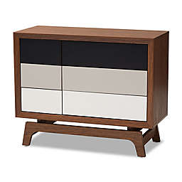 Baxton Studio Kinley 6-Drawer Chest