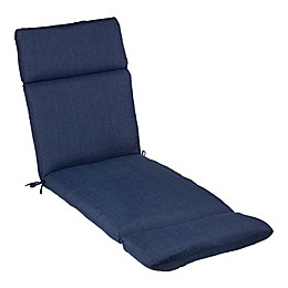 Medford Solid Outdoor Chaise Lounge Cushion