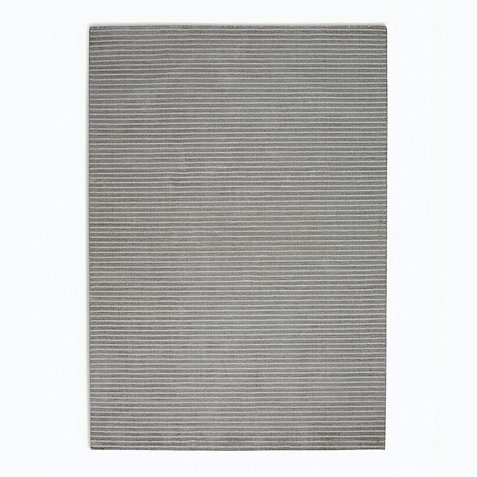 Alternate image 1 for Calvin Klein Newark Stripes 5'3 x 7'5 Area Rug in Grey