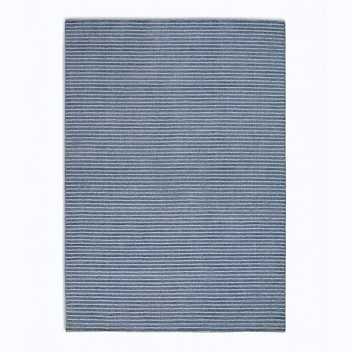 Alternate image 1 for Calvin Klein Newark Stripes 5'3 x 7'5' Area Rug in Blue