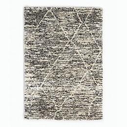 Calvin Klein® San Antonio Lines Area Rug in Charcoal/Ivory