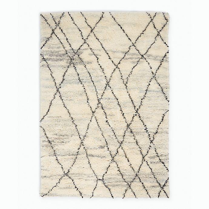 Alternate image 1 for Calvin Klein® San Antonio Crisscross Area Rug in Ivory/Multi