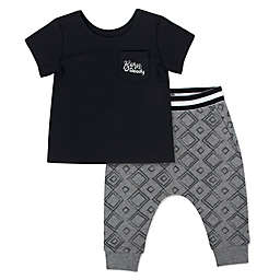 Aimee Kestenberg Born Ready Shirt and Pants Set in Black