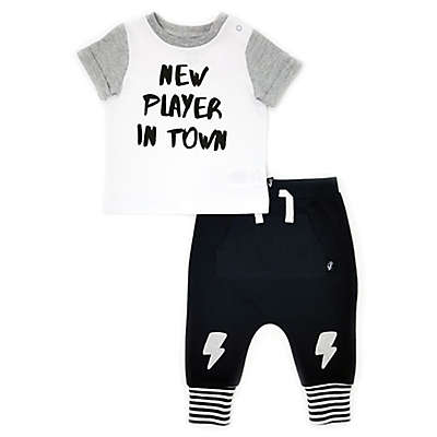 Mini Heroes™ 2-Piece New Player Set in Black/White
