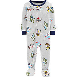 carter's® Toddler Ninja Snug-Fit Cotton Pajama in Grey