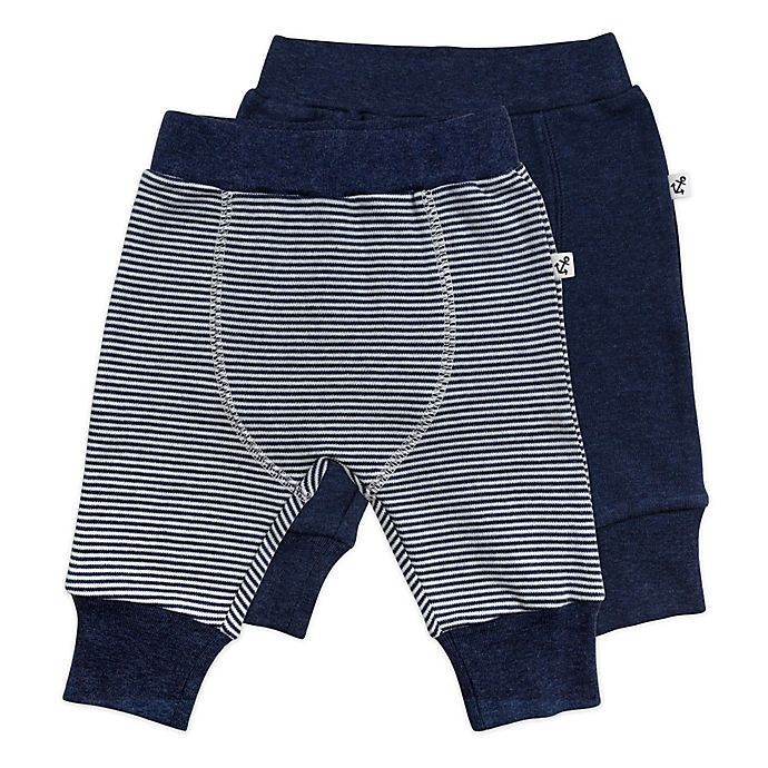 Alternate image 1 for Mac & Moon 2-Pack Baby Boy Pants Set
