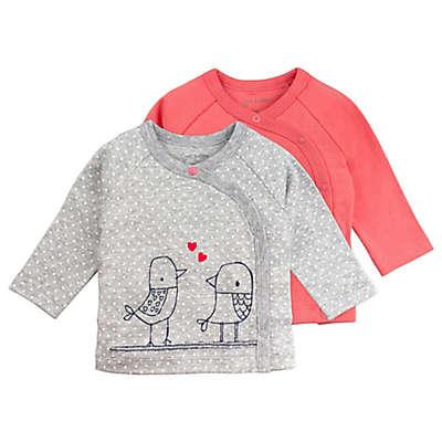 Mac & Moon 2-Pack Bird Long Sleeve Kimono Tops