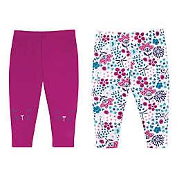 Lamaze® 2-Pack Flower and Faces Organic Cotton Pants