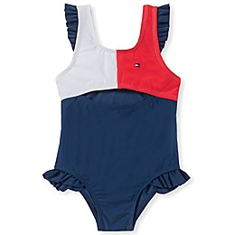 Tommy Hilfiger® 1-Piece Cutout Swimsuit