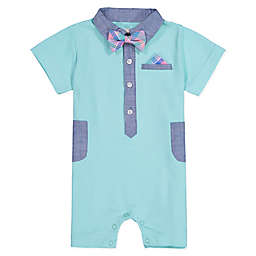 Beetle & Thread Bow Tie Coverall in Mint