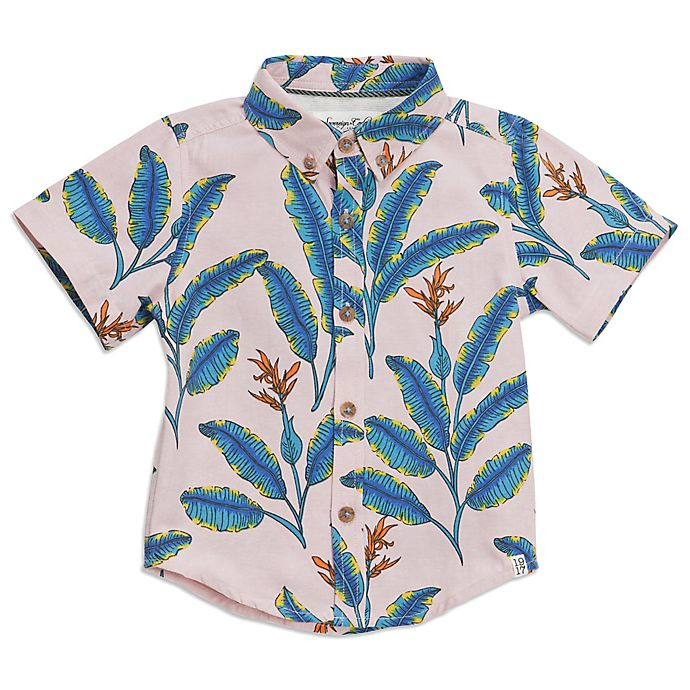 Alternate image 1 for Sovereign Code™ Banana Leaf Woven Shirt