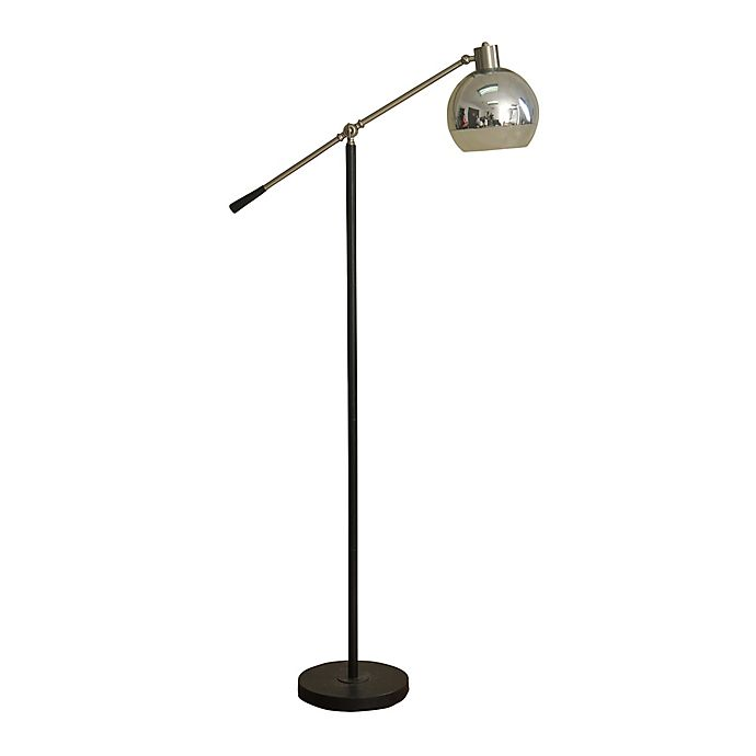 Alternate image 1 for Stylecraft Home Collection Floor Lamp in Black