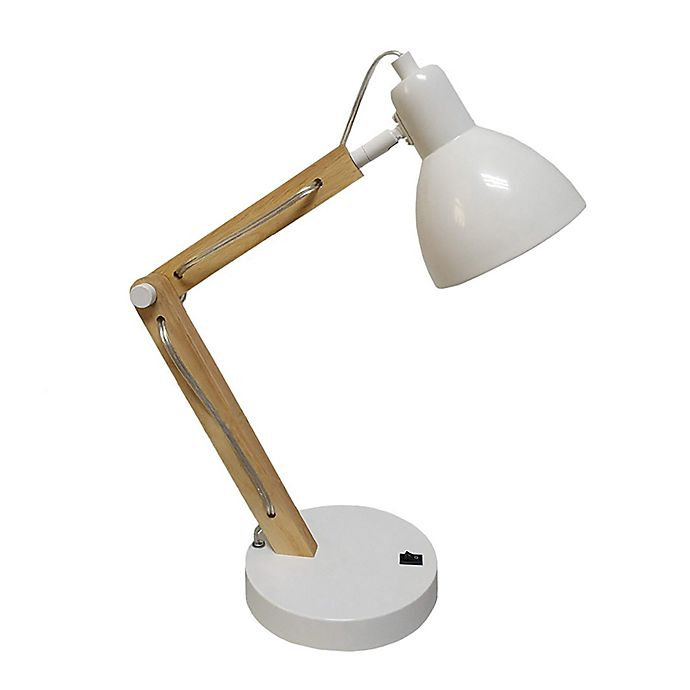 Alternate image 1 for Marmalade™ Anna Desk Lamp in White