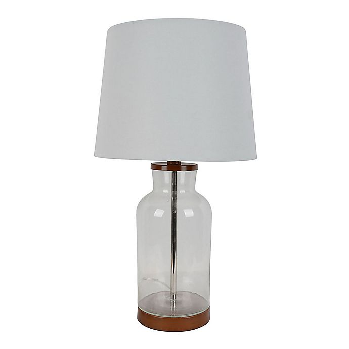 Alternate image 1 for Bee & Willow Home™ Table Lamp in Glass