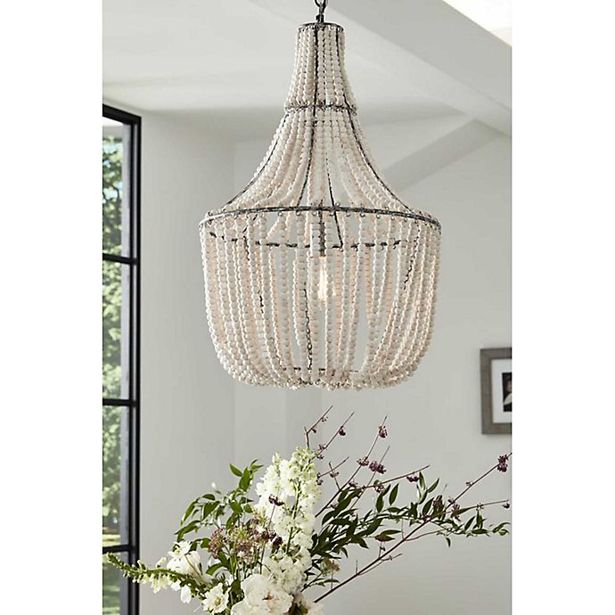 Alternate image 1 for Bee & Willow™ Home Francesca Chandelier in White