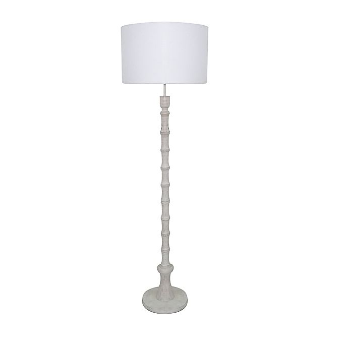 Alternate image 1 for Bee & Willow Home Zelda Floor Lamp in White