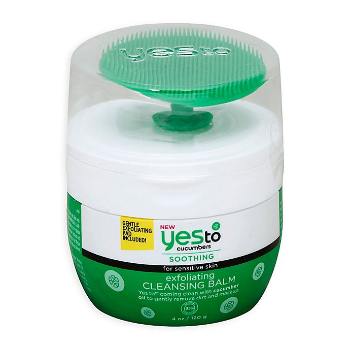 Alternate image 1 for Yes to® 4 oz. Cucumbers Exfoliating Cleansing Balm