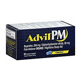Advil® PM 80-Count Pain Reliever/Nighttime Sleep-Aid Caplets