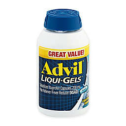 Advil® Liqui-Gels® 200-Count 200 mg Pain Reliever/Fever Reducer