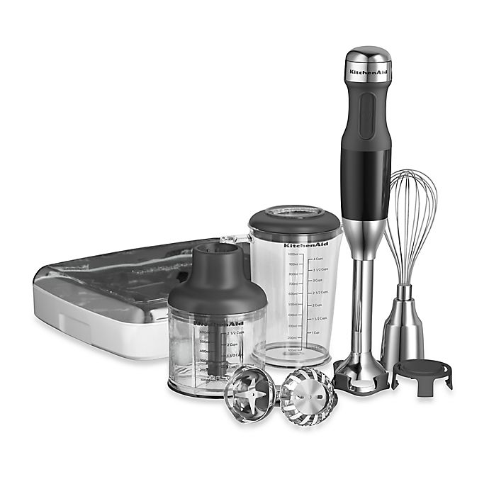 Alternate image 1 for KitchenAid® 5-Speed Hand Blender