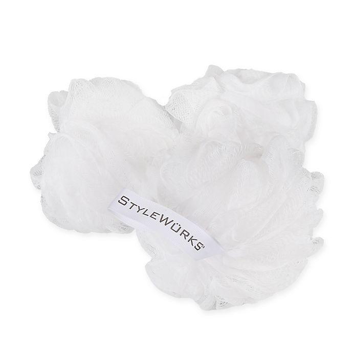 Alternate image 1 for Style Werks Mesh Bath Sponges (Pack of 3)