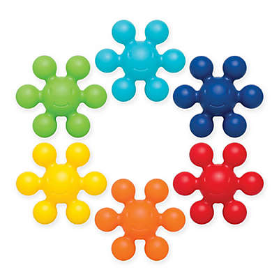 Ubbi® Connecting Bath Toys (Set of 6)