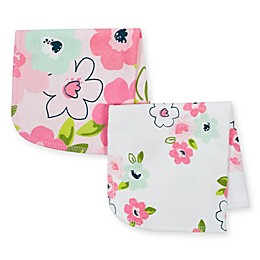 Just Born® 10-Pack Blossom Washcloths in Pink