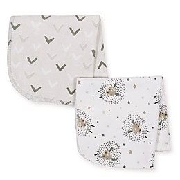 Just Born® 10-Pack Counting Sheep Washcloths in Grey