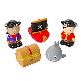 Elegant Baby® Pirate Party Squirties Bath Set