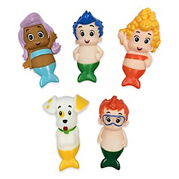 Nickelodeon™ Bubble Guppies 5-Piece Bath Finger Puppet Set