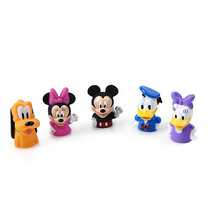 Alternate image 1 for Ginsey 5-Piece Mickey and Friends Finger Puppets