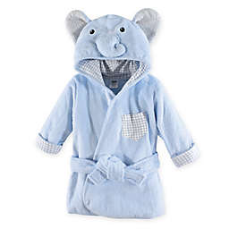 Hudson Baby® Size 0-9M Elephant Terry Bathrobe in Blue
