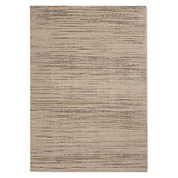 Calvin Klein® Orlando Loom Woven Striped 9'3 x 12'9 Area Rug in Taupe