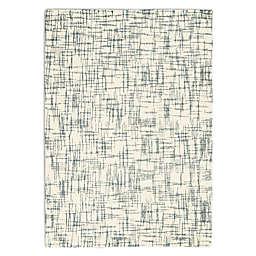 Calvin Klein® Tucson Hand Tufted Abstract 5'3 x 7'5 Area Rug in Ivory/Light Grey