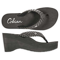 Cobian® Zoe™ Women's Wedge Sandal in Black