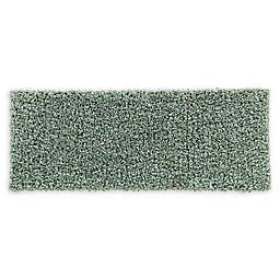 VCNY Home 24-Inch x 60-Inch Paper Shag Bath Rug in Green