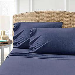 Morgan Home T-Shirt Twin XL Sheet Set in Indigo