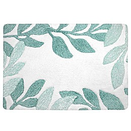 Colordrift Botanical Bath Rug Collection