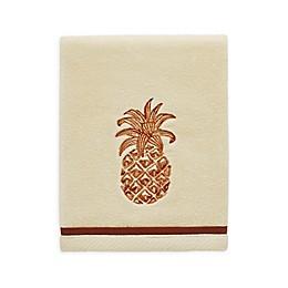 Tommy Bahama® Batik Pineapple Raw Sienna Fingertip Towel