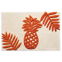 Tommy Bahama® Batik Pineapple Coral 1'6 x 2'4 Accent Rug
