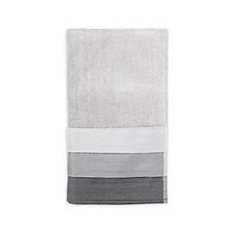 Croscill® Fairfax Fingertip Towel in Black