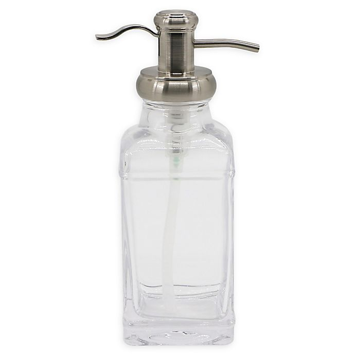 Alternate image 1 for Bowery Lotion Dispenser in Brushed Nickel