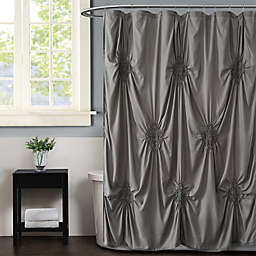Christian Siriano NY® Georgia Rouched Shower Curtains