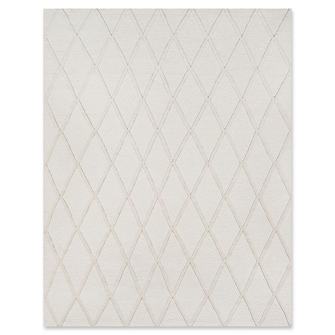 Alternate image 1 for Erin Gates Langdon Hand Woven Wool 7-Foot 6-Inch x 9-Foot 6-Inch Area Rug in Beige