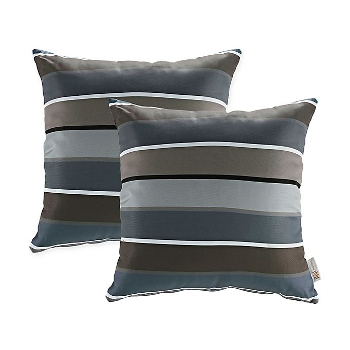 Alternate image 1 for Modway Square Outdoor Throw Pillows (Set of 2)