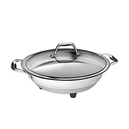 CucinaPro™ Stainless Steel Interior Electric Skillet