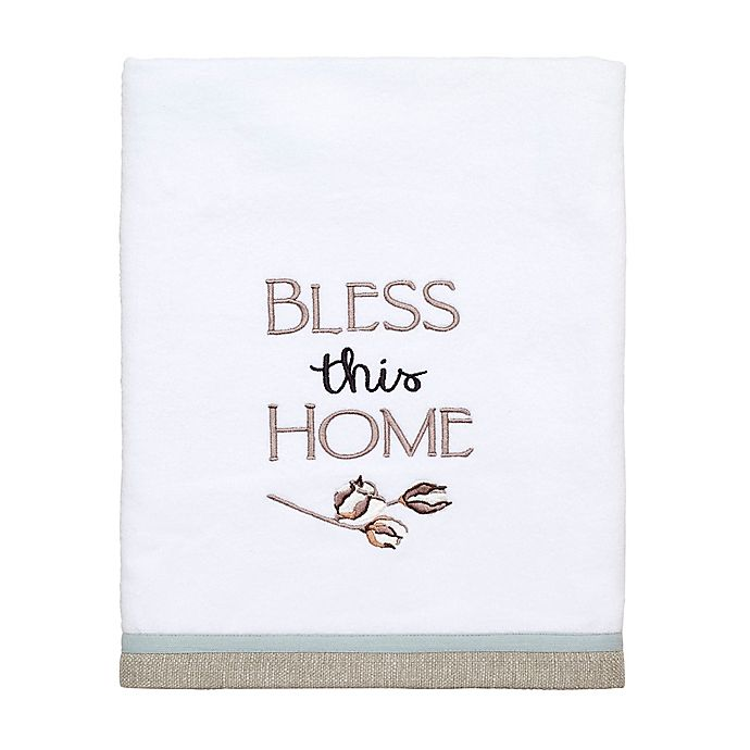 Alternate image 1 for Avanti Our Nest Bath Towel in White