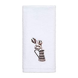Avanti Our Nest Fingertip Towel in White